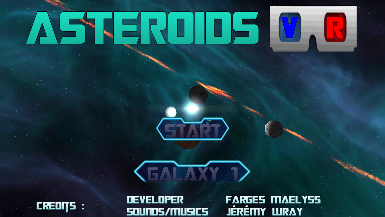 VR Asteroids- screenshot