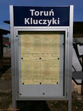 Photo: Rozkład jazdy {Toruń Kluczyki; 2013-04-20}