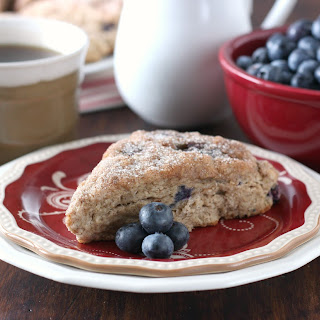 Blueberry Snickerdoodle Scones.