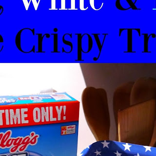 Red, White & Blue Rice Crispy Treats
