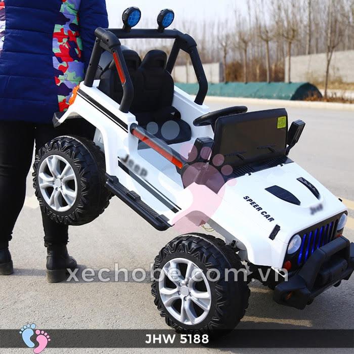Xe ô tô điện 4 động cơ JHW5188 5