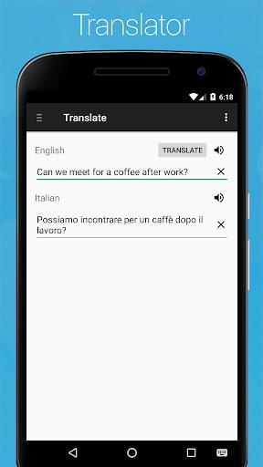 Italian English Dictionary screenshot 7