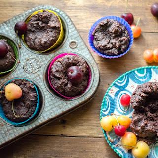 Moist Mini Dark Chocolate Cakes (paleo, vegan)