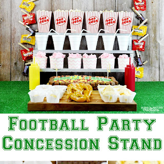 Football Party Concession Stand.
