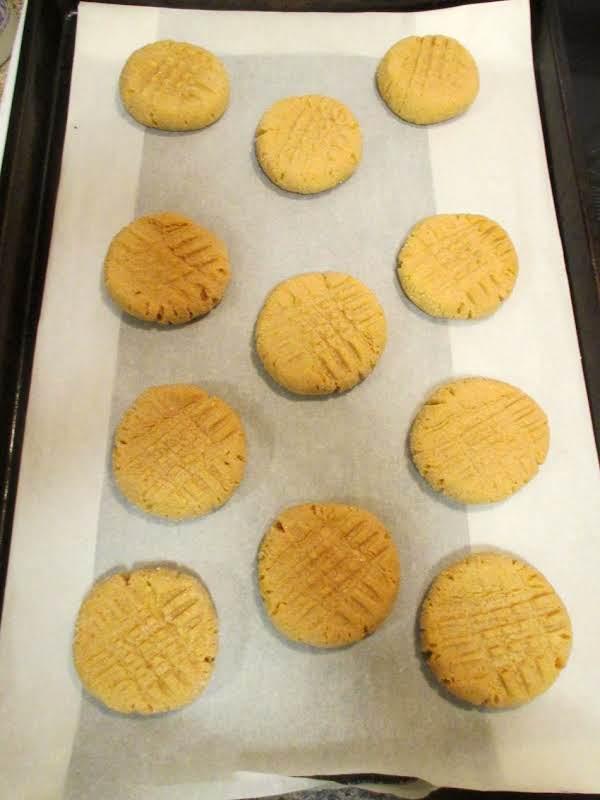 Low Sodium Peanut Butter Cookies (5mg Per Cookie) Recipe