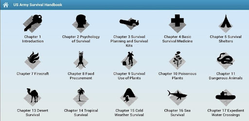 Army Survival Handbook – Offline Manual Guide App for PC