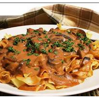 Beef Stroganoff With Red Wine And Sour Cream Recipes.
