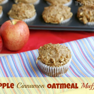 Apple Cinnamon Oatmeal Muffins.