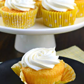 Lemon Cupcakes With Lemon Pudding Recipes.