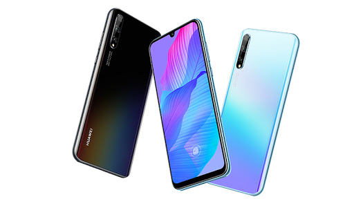 The Huawei P Smart S 2020.
