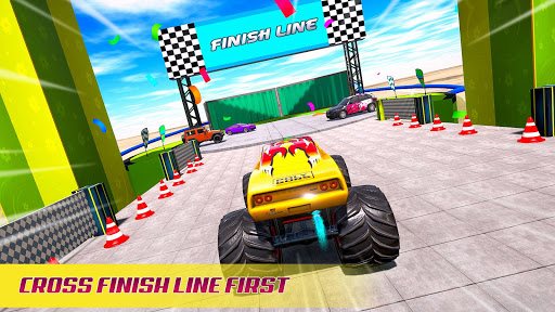 Mega Ramp Car Racing Stunts 3D - Impossible Tracks android2mod screenshots 24