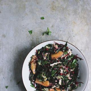 Winter Chopped Kale Salad with Oranges + a Zesty Citrus Vinaigrette