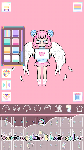 Pastel Girl : Dress Up Game(Free Shopping)