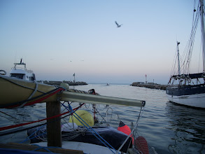 Photo: Entering the Mediterranean sea for the first time in Vengara! Yipee!