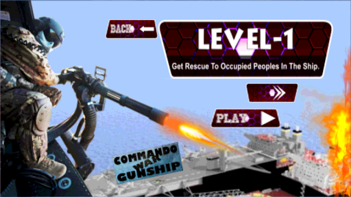 玩動作App|Commando War Heli Gunship免費|APP試玩