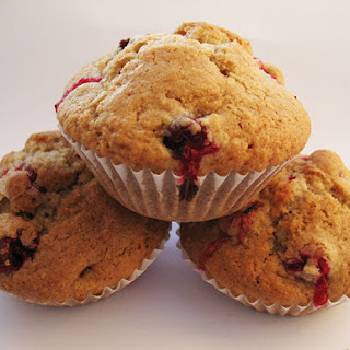 Spiced Cranberry Muffins Recipe