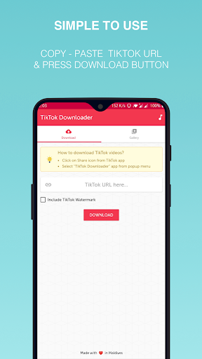 Video Downloader for TikTok for Android - Download