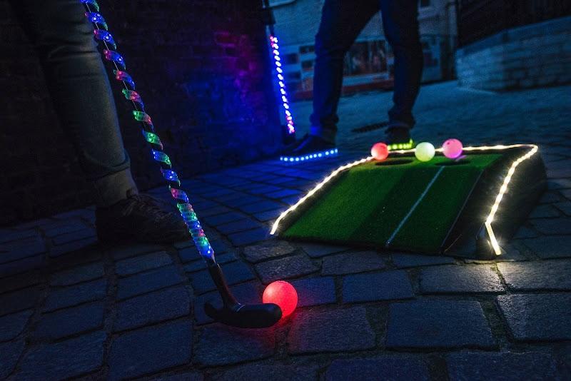 Glowgolf (verlichte stadgolf)