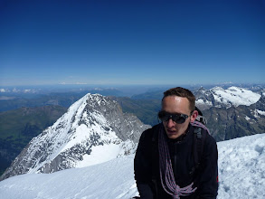 Photo: On the Mönch's summit (happy birthday)