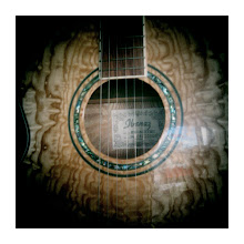 Photo: The guitar that I got Jay for Christmas. 1272673603964