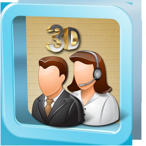 3Dコンタクトフリー·リスト 工具 App LOGO-APP試玩