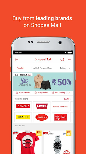 Shopee 8.8 Fashion Sale screenshots 5