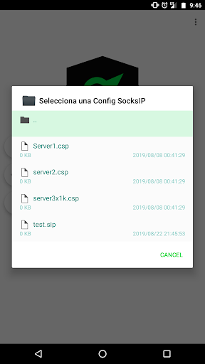 SocksIP Tunnel screenshot 7