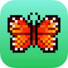 Mariposa Color By Number: Pixel Art Mariposa icon