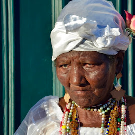 Baianas de lençóis  by Diego Alves - People Portraits of Women ( bahia, brazil, portrat, culture, people )