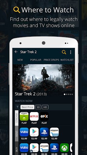 JustWatch - Search Engine for Streaming and Cinema 0.22.3 screenshots 3