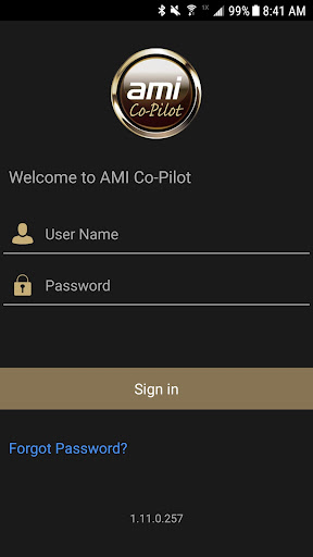 AMI Co-Pilot - screenshot