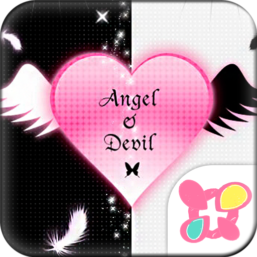 Gothic Theme Angel & Devil Icon