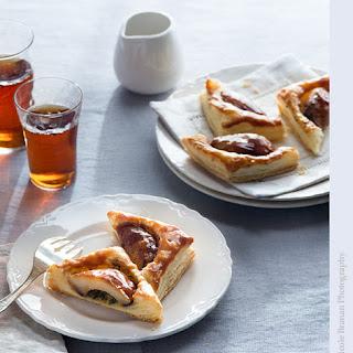 Tarragon and Caramel Pear Tarts