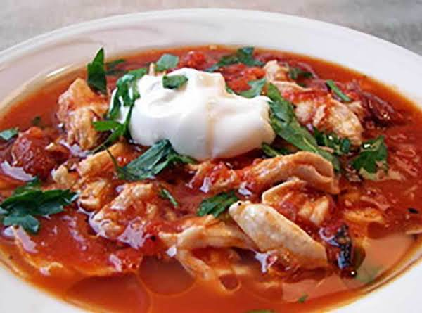 Spicy Chicken Tomato Soup Recipe