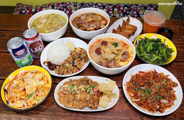 泰小葉泰式風味小食|台中高CP值平價泰味小館,銅板價爽吃道地泰式料理,用餐時間爆多人潮外送也排滿滿
