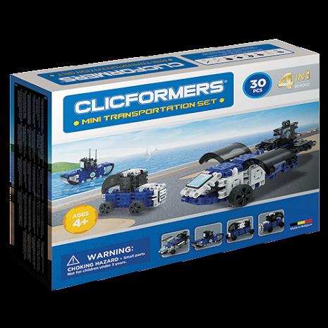 Clicformers - 4in1 DIY Transportation set