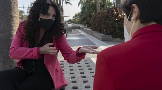 """Rocío Ruiz: """"Para las fotos todos se pegan, ahora veremos quiénes son de Cs"""""""