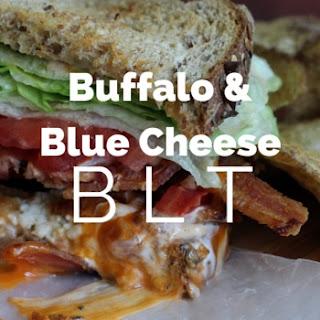 Buffalo and Blue Cheese BLT Sandwich