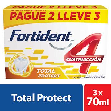 OFERTA CREMA DENTAL   FORTIDENT PROTECT. X3UND X70ML.PAGUE 2 LLEVE 3
