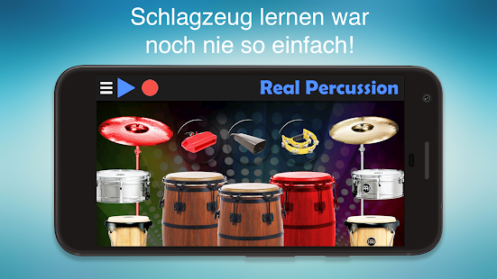 Real Percussion - Das beste Perkussion Set Screenshot