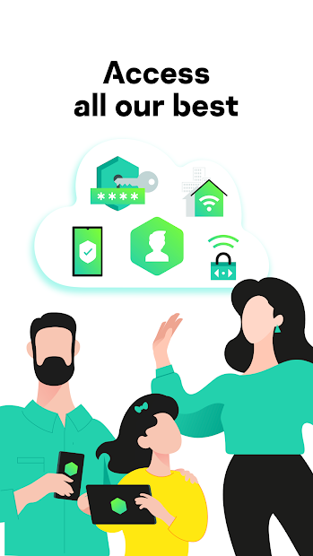 Family Protection — Kaspersky Security Cloud Android App Screenshot
