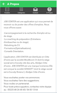JOB CENTER (Officiel) - náhled