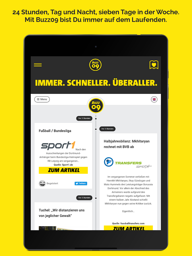 Buzz09 - Borussia Dortmund BVB – Screenshot