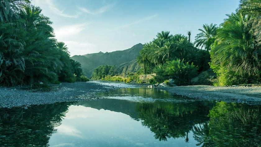Paisaje de Oman.