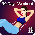 Girls Fitness Workout-Loss weight & fat in 30 days icon