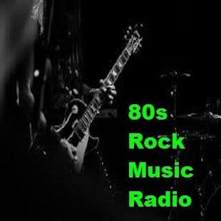 80s Rock Music Radio - náhled