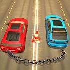encadenado carrera de coches icon