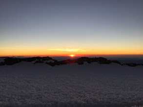 Photo: Sunrise from the Summit