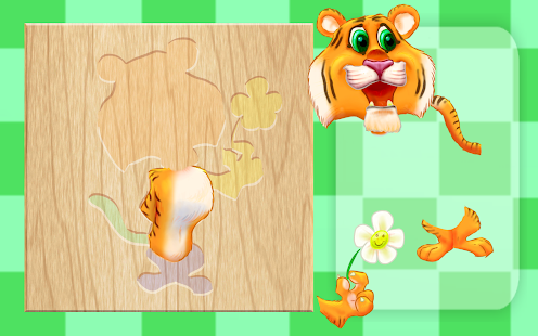 Animal Puzzles for Children Screenshot