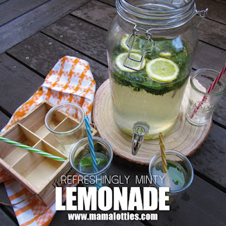 Mint Lemonade.
